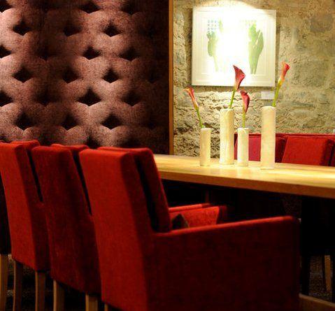 Beispiel: Tischdekoration, Foto: Romantik Hotel Altes Amtshaus.