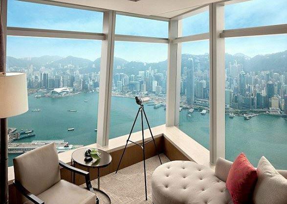 Beispiel: Hotelzimmer mit atemberaubendem Ausblick, Foto: Secret Escapes.