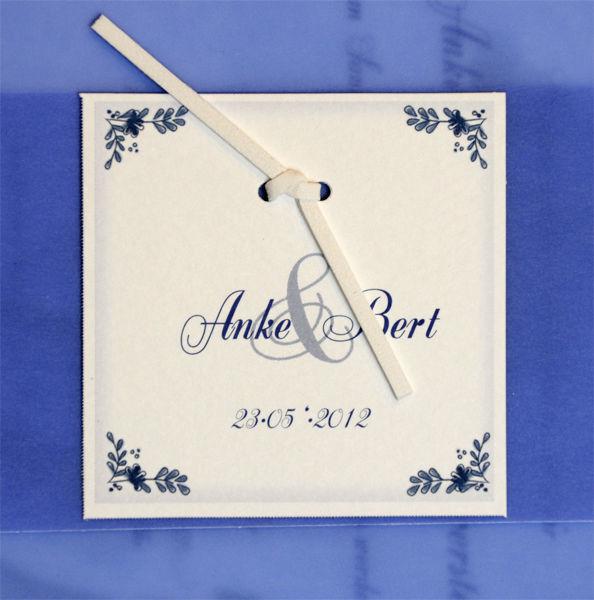 Beispiel: Einladungskarte, Foto: 4solutions Media.