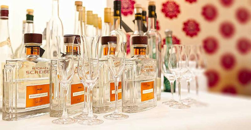 Beispiel: Feine Spirituosen, Foto: Dobler's Restaurant.
