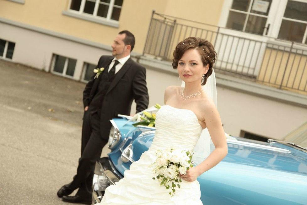 Beispiel: Professionelle Hochzeitsfotos, Foto: Troy Productions.