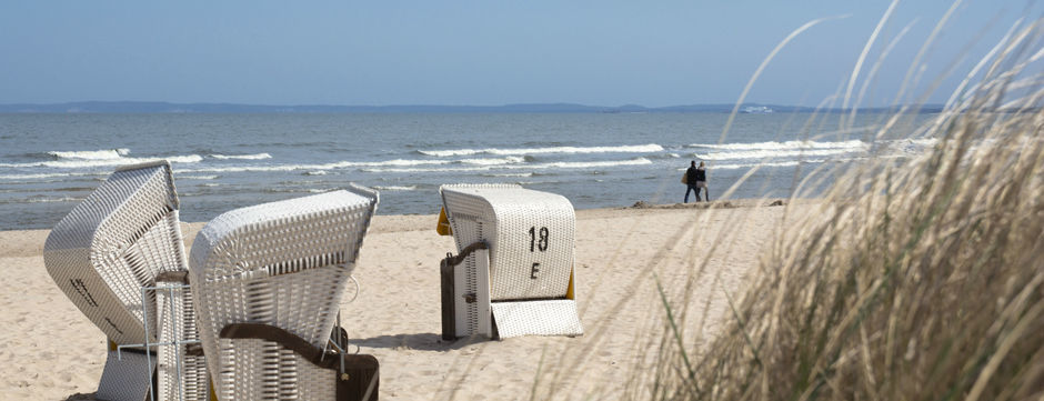Beispiel: Strand - Usedom, Foto: Seetel Hotels.