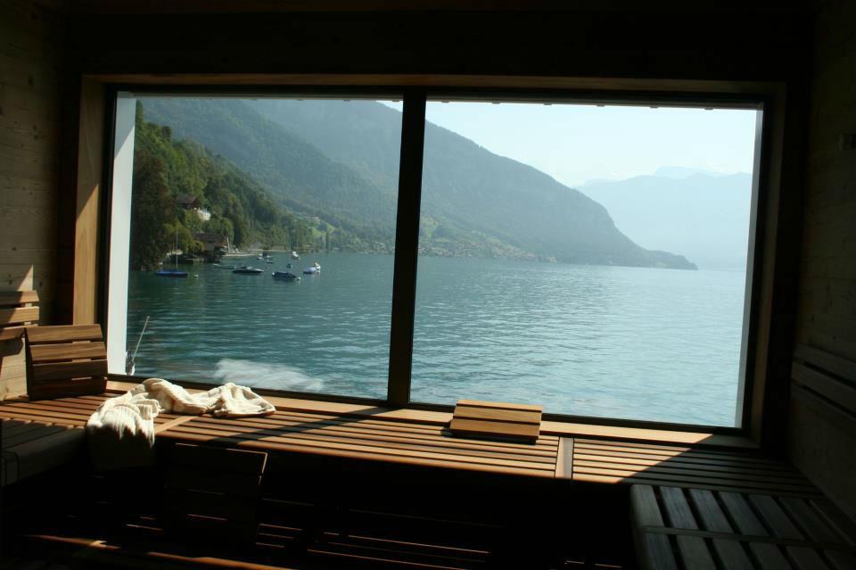 Beispiel: Sauna, Foto: Parkhotel Gunten.
