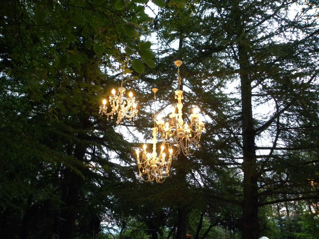 LAMPARAS VINTAGE CANDELIER EN CRISTALES