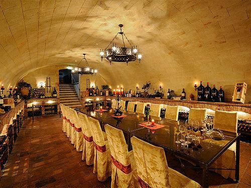 Beispiel: Weinkeller, Foto: Hotel Vila Vita Pannonia.