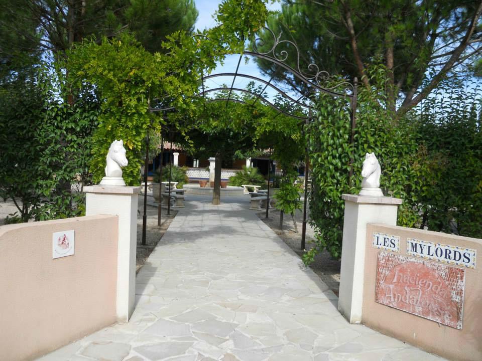 Entrée de la Salle Andalouse
