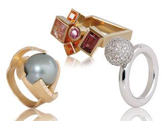 Beispiel: Ringe, Foto: CF Atelier.
