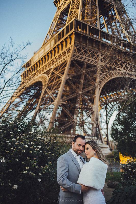 Casamento em Paris - França Arruda e Poubel Fotografia