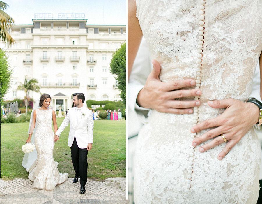 Beautiful Destination Wedding in Palácio Estoril