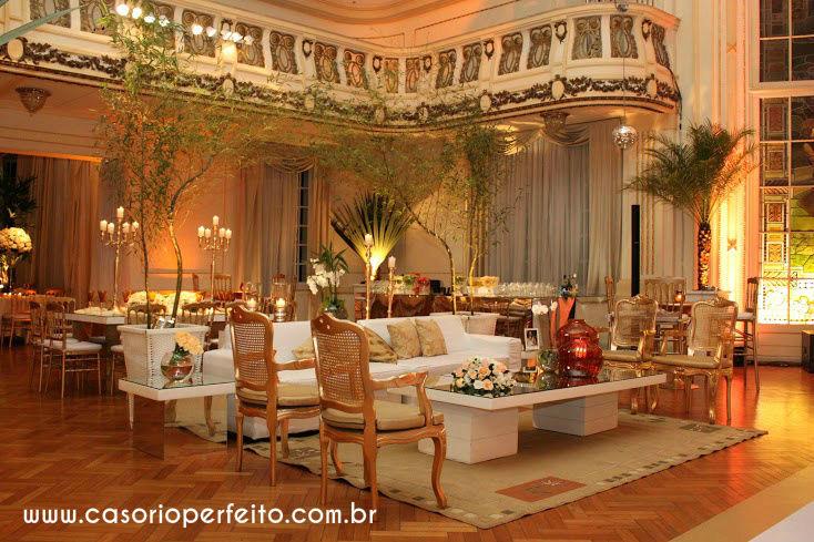 Casório Perfeito Cerimonial e Decoração de Casório Perfeito - Decoração de Eventos Clube Fluminense