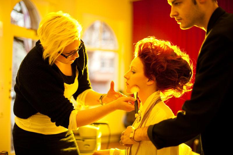 Beispiel: Making of, Foto: Kat make-up.