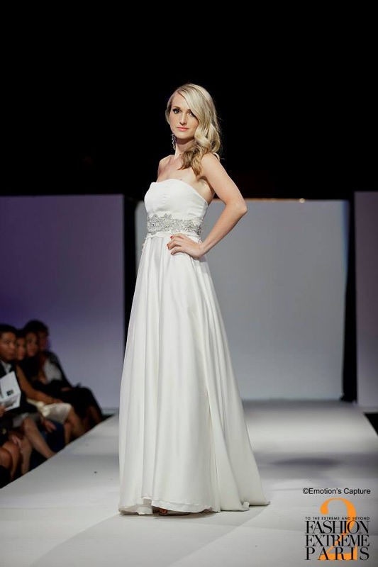 Robe de mariée Bustier Agnès Szabelewski