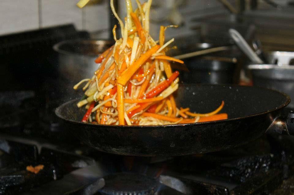 Beispiel: Zubereitung, Foto: Restaurant Gänsbauer.
