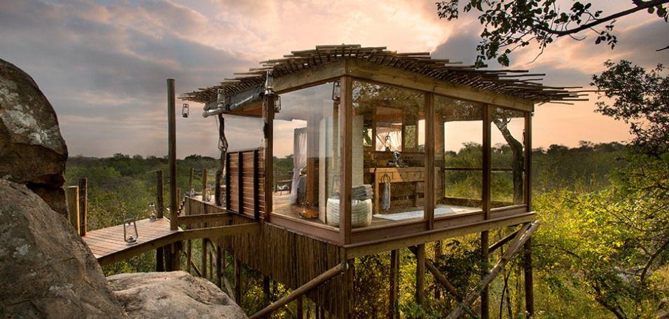 Die spezielle Unterkunft , Südafrika - Lion Sands (Treehouse)
