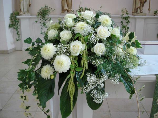 Beispiel: Blumen für die Zeremonie, Foto: Blatt & Blüte.