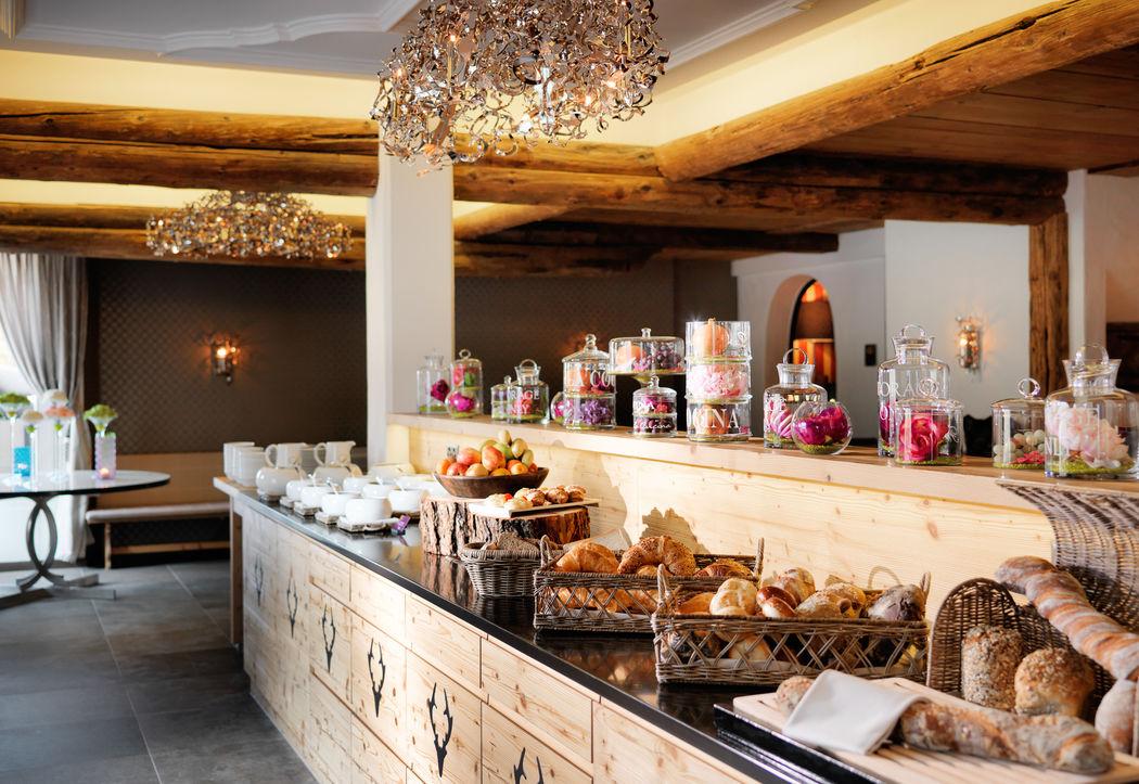 Frühstücksbuffet - Restaurant Guardalej