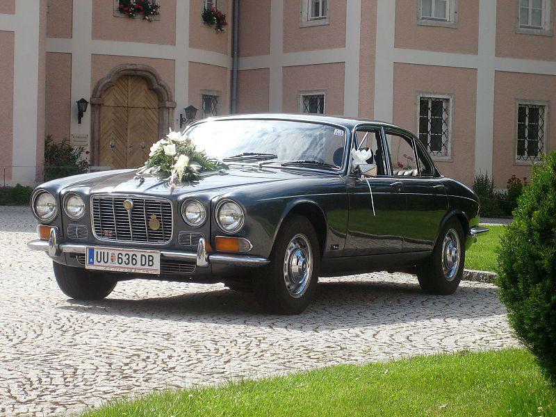 Beispiel: Der Jaguar XJ6 I, Foto: Royal Classics Oldtimer.
