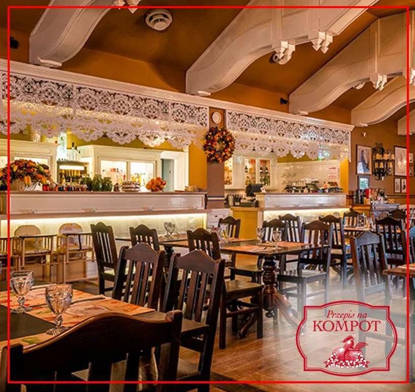 Restauracja Przepis na KOMPOT Sala główna