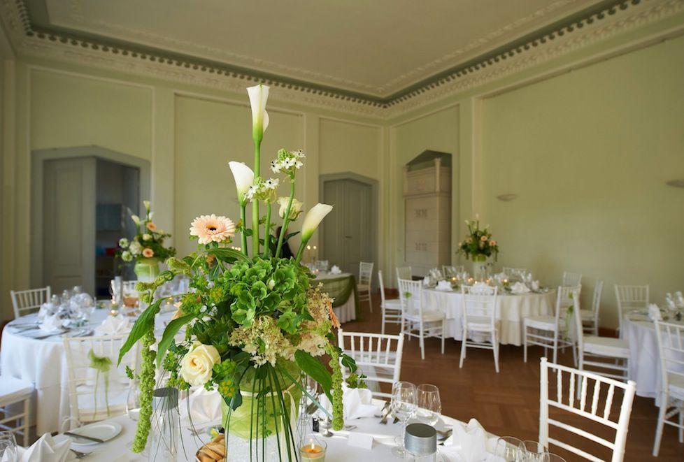 Festsaal in Branderburger Hochzeitslocation, Foto: Christoph Petras für Engel 07
