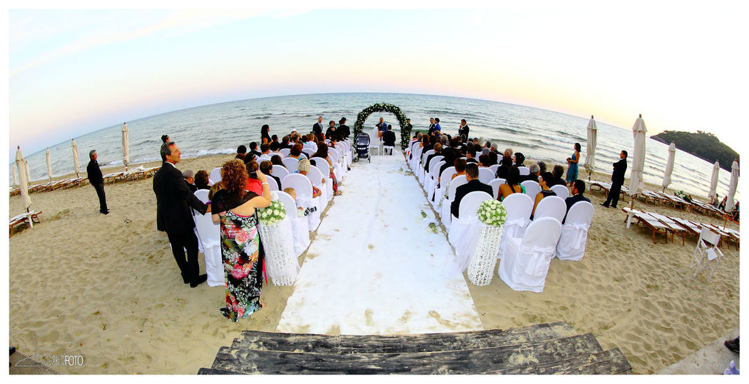 Cerimonia sulla spiaggia