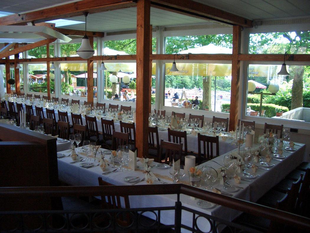 Beispiel: Hochzeitstafel, Foto: Grunewaldturm.