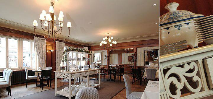 Beispiel: Hotelrestaurant, Foto: Hotel Bären Langenthal.