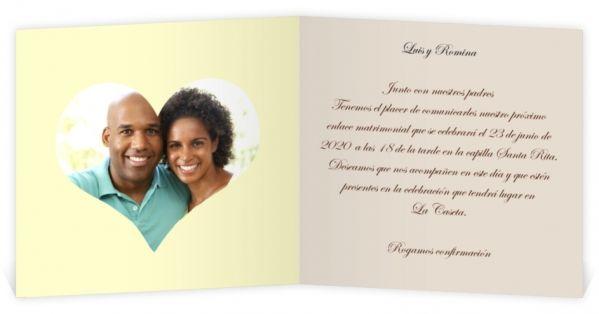 Invitaciones románticas