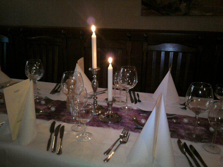 Beispiel: Hochzeitstafel, Foto: Weisse Villa.