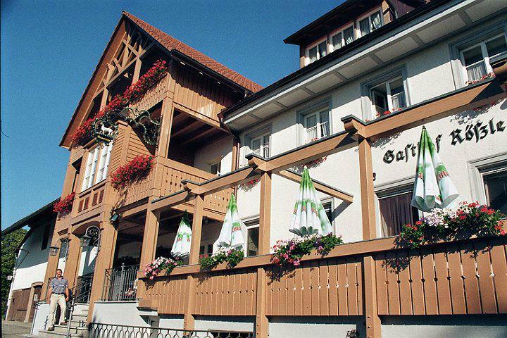 Beispiel: Terrasse, Foto: Landgasthof Rössle.
