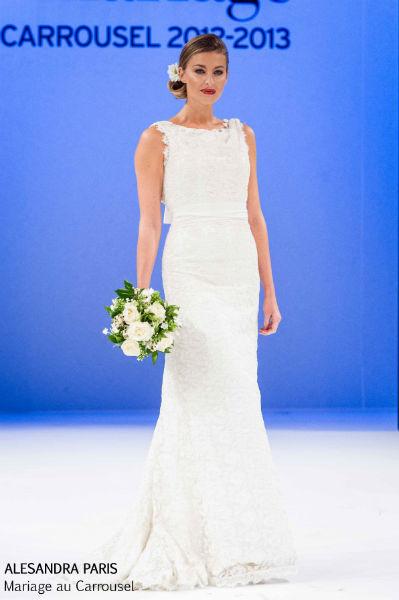 Alesandra Paris robe de mariée dentelle