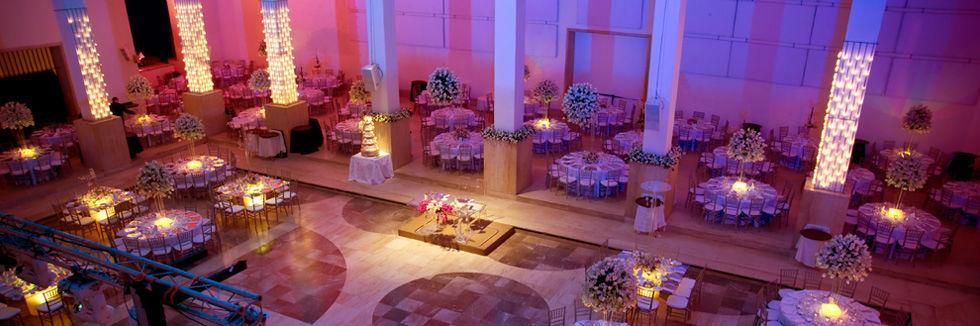 Salón de boda en Museo Marco de Monterrey