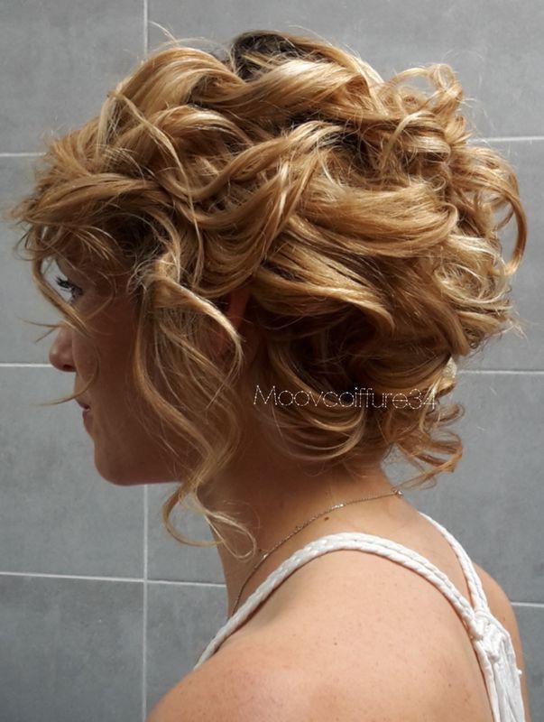 Moovcoiffure34. Nanoo.  Coiffure bohème chic ..coiffure naturelle