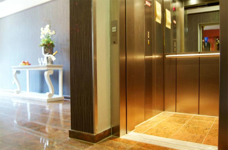Beispiel: Hotelflur, Foto: AKZENT Hotel Tietmeyer.
