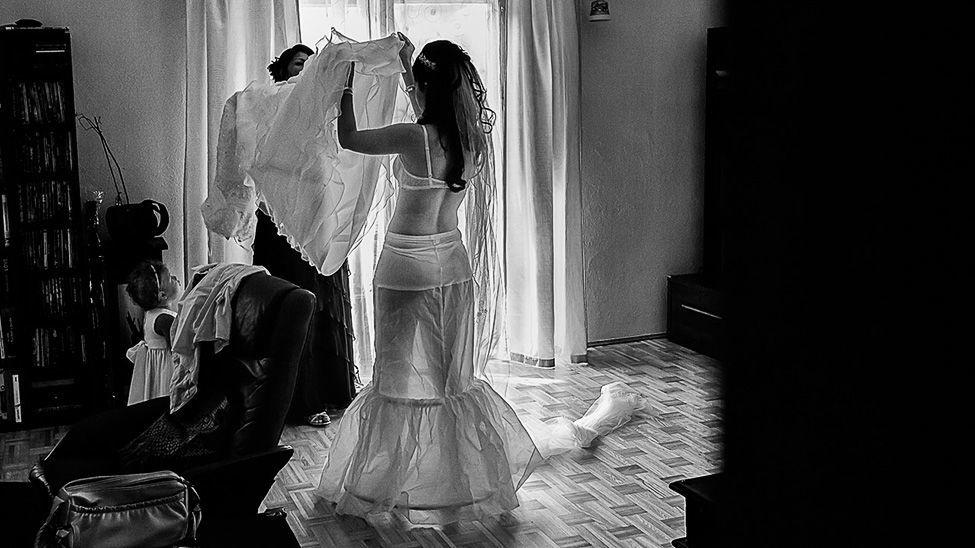Beispiel: Fotos von den Vorbereitungen, Foto: Markus Schneeberger.