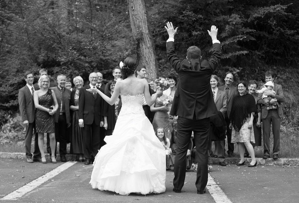 Beispiel: Hochzeitsfeier, Foto: Most Special Wedding.