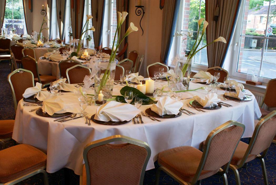 Beispiel: Saal Sir Henry - Bankett, Foto: Hotel Robben.