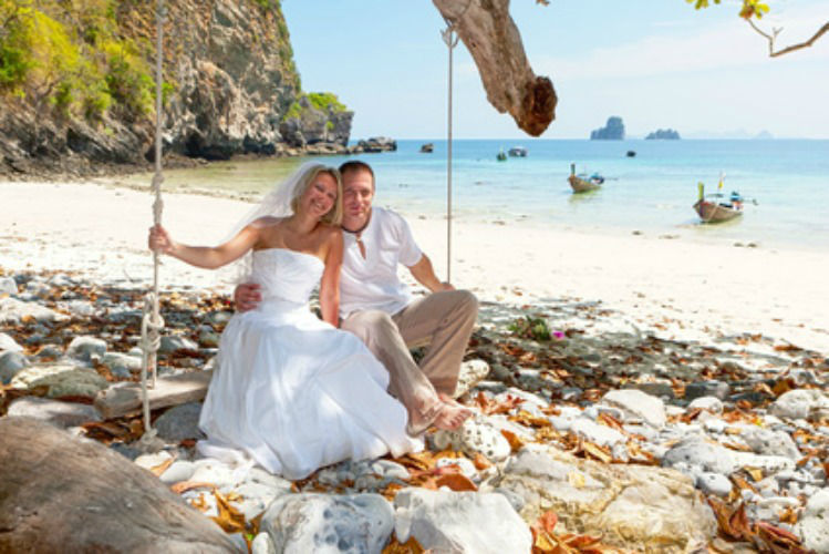 Beispiel: Glückliches Ehepaar, Foto: Dreamlike Celebrations & more.