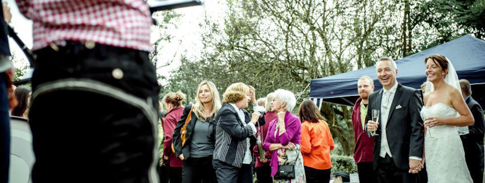 Beispiel: Catering für Ihre Hochzeitsfeier, Foto: Stroh Catering.