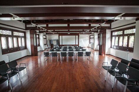 Beispiel: Saal Obergeschoss, Foto: Chinesisches Teehaus Yu Garden.