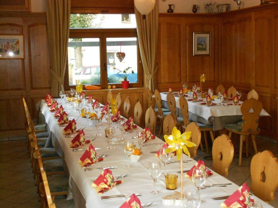 Beispiel: Tischdekoration, Foto: Büttnerstuben.