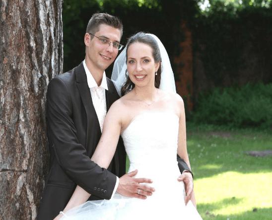 Beispiel: Hochzeitskosmetik, Foto: Aspektkosmetik - Die mobile Visagistin.