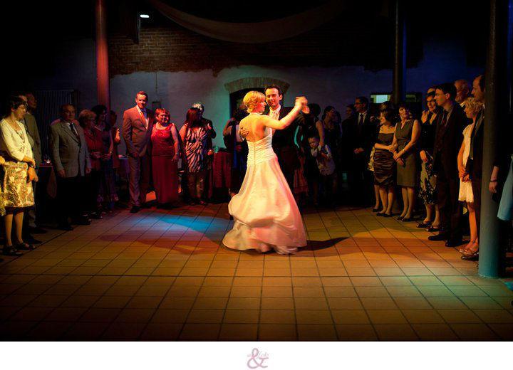 Beispiel: Fotos von der Hochzeitsfeier, Foto: andfoto.
