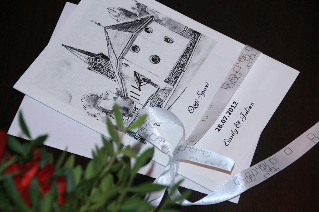 Guida rapida per personalizzare il vostro libretto matrimoniale. http://www.libretto-messa-matrimonio.it/libretto.html