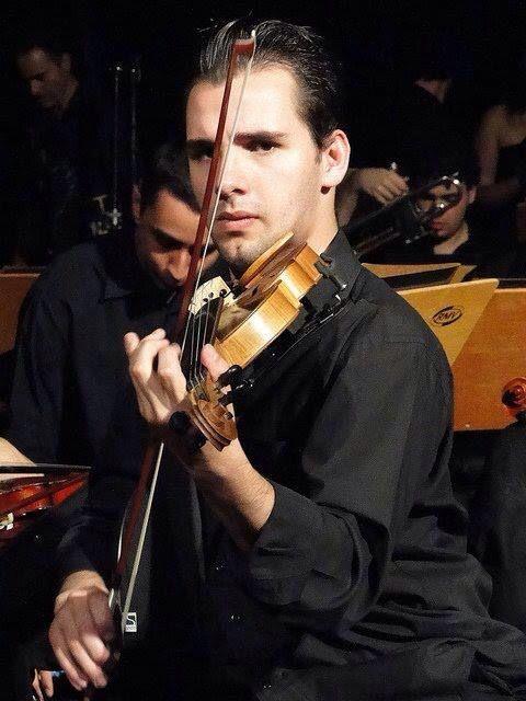 Nosso violinista Anderson Ancelmo.
