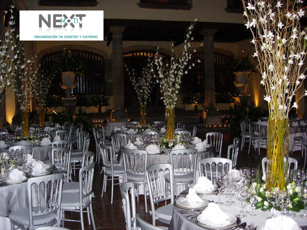 Su boda con nextmotiv_montaje y decoración_decoración en plata