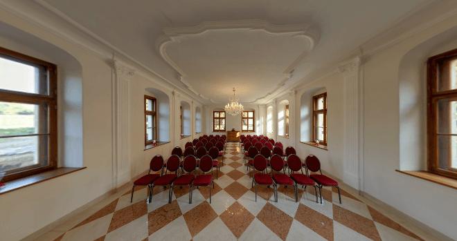 Beispiel: Schlosskapelle, Foto: Schloss Proschwitz.