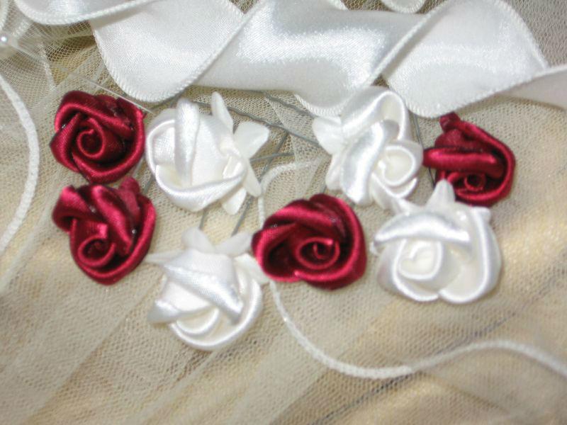 Beispiel: Brauteinzelblumen, Foto: Braut- & Festkleider Lehmann.