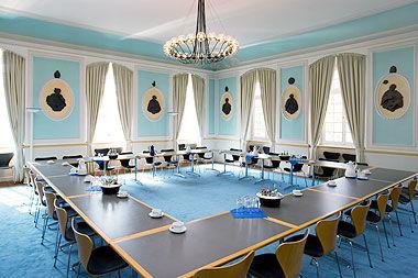 Beispiel: Äbtesaal, Foto: Abtei Brauweiler.