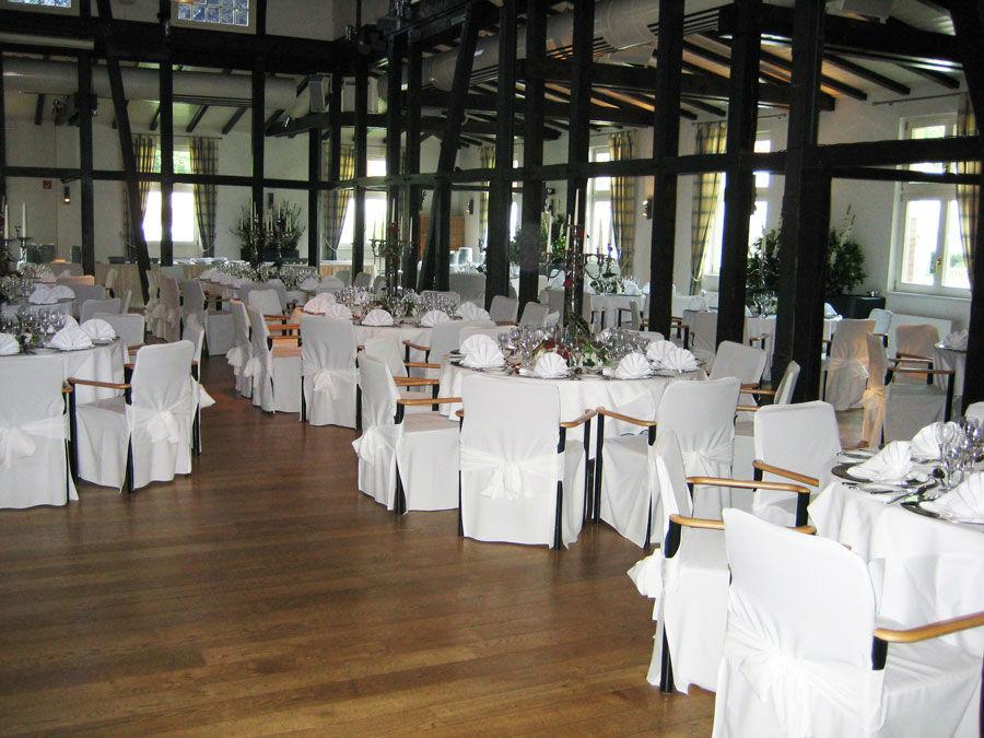 Beispiel: Ausrichtung des Hochzeitsbanketts, Foto: Hochzeitstraum.