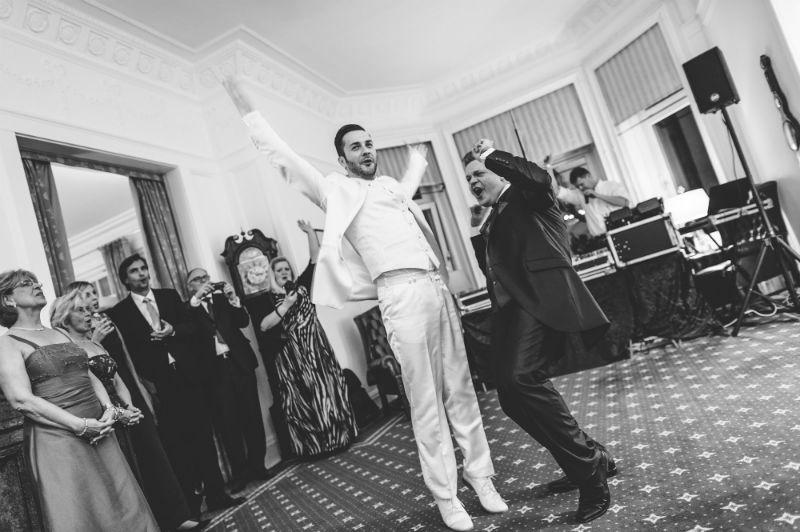 Beispiel: Fotos von der Hochzeitsfeier, Foto: Patrick Ludolph.